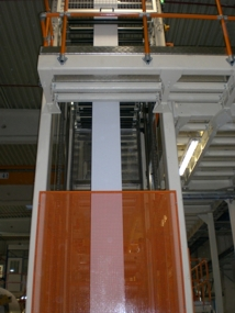 Accumulator for Airlaid paper