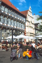 Historic downtown Hameln