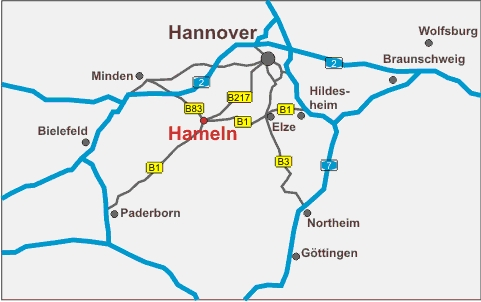 Hameln Karte.Directions By Car Somatec State Of The Art Winding